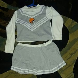 Browns 4t cheerleading outfit